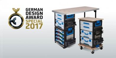 WorkMo gewinnt den German Design Award 2017