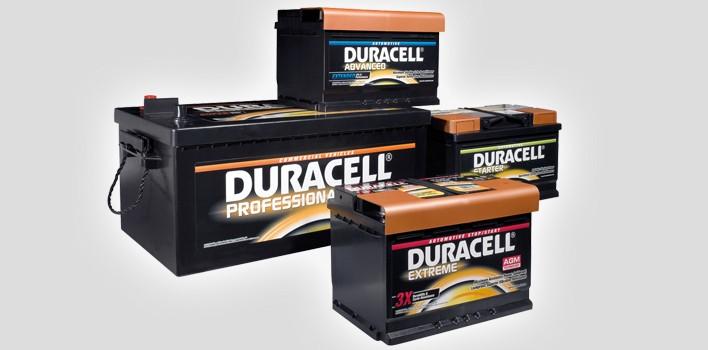 Würth setzt auf Starterbatterien von Duracell