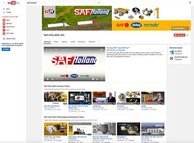 Link zum SAF YouTube Channel