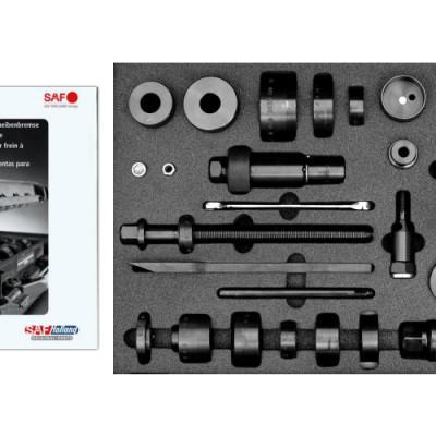 Vielseitiger Werkzeugkoffer für Scheibenbremsen von SAF Holland