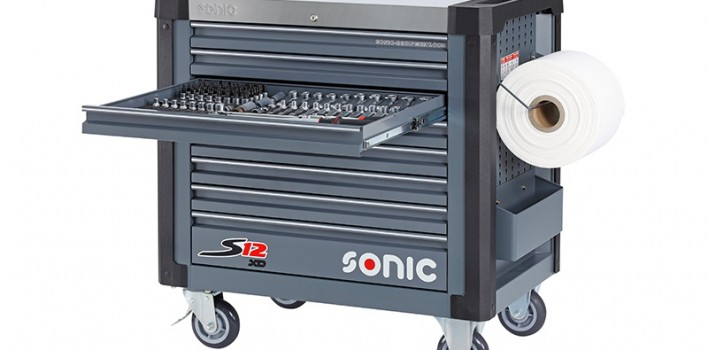 Neuer Werkstattwagen in der Sonic Werkstattwagen Produktlinie: Der S12XD