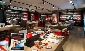Würth eröffnet ersten Markenshop in Stuttgart