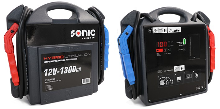 Mobile Starthilfe mit Kondensator 12V/1300A