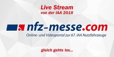 Live-Stream von der IAA 2018